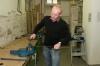 Arbeiten in der Holzwerkstatt