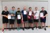 1. Platz im Volleyball